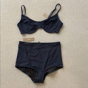 J. Crew Navy High Waist Bikini